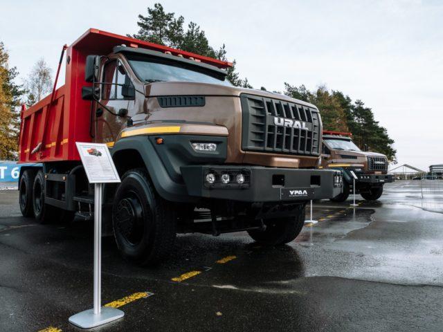 Презентация линейки автомобилей Урал с колёсной формулой 6x4