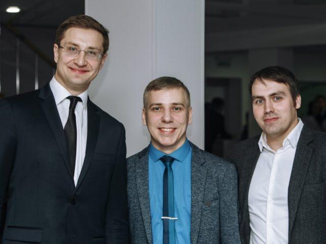 С представителем компании Техсервис Москва и техническим директором проекта Сергем Николаевым