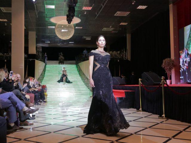 Показ коллекции дизайнера Регины Шрекер на Юбилее журнала Estet