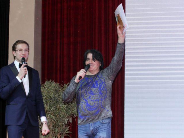 Роман Акимов и певец Вячеслав Ольховский
