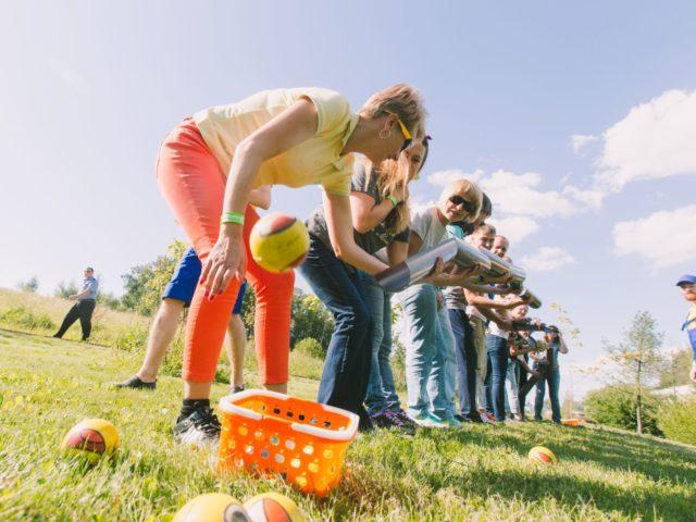 Проведение летнего тимбилдинга на природе