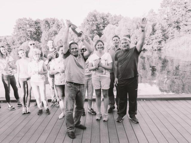 Команда Чемпион летнего корпоративного тимбилдинга