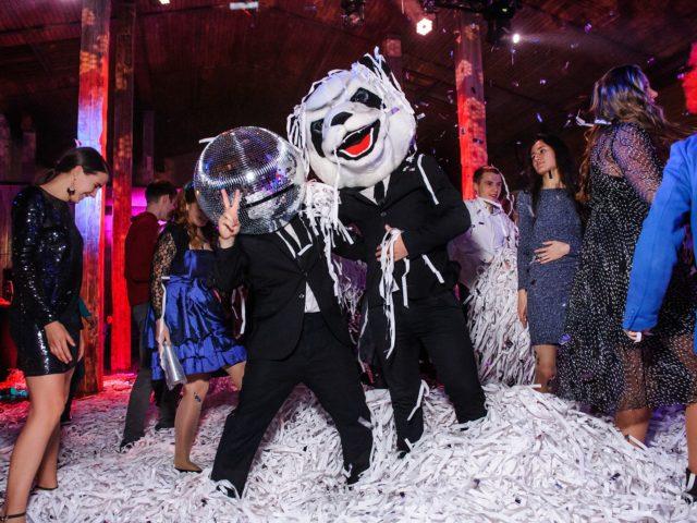 Озорные диско панды на вечеринке