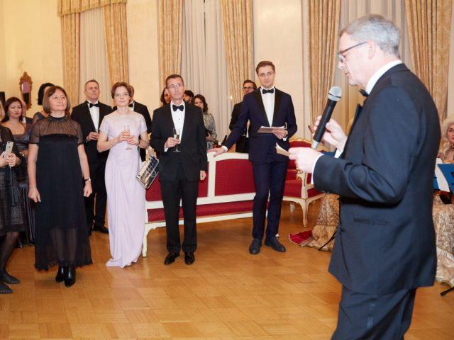 Выступление Его Превосходительства господина Йоханнеса Айгнера Посла Австрии