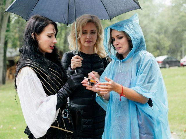 Организатор свадьбы Екатерина Акимова рассказывает как стреляет пищаль