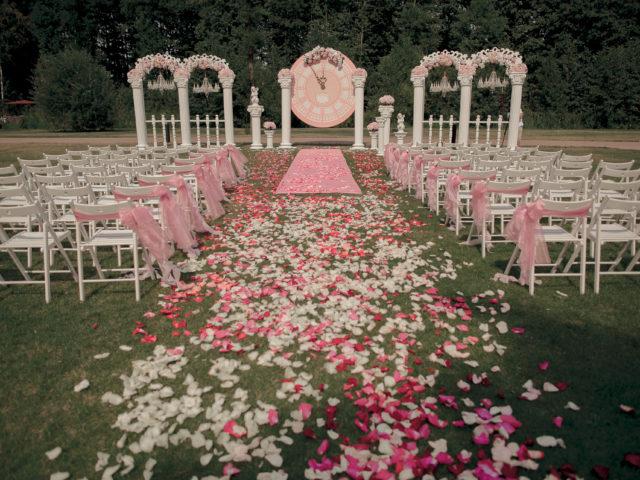 Декор места проведения бракосочетания