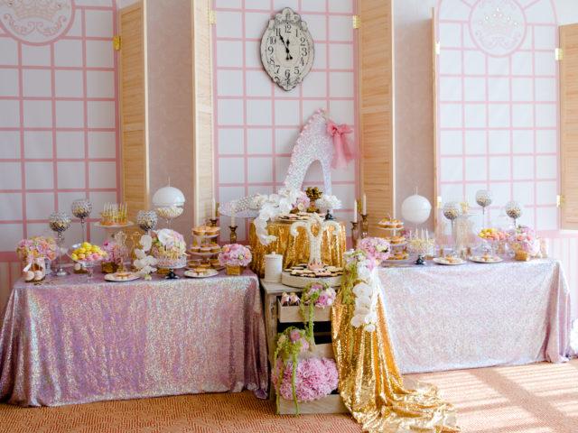 Сладкий стол на свадьбе Золушка