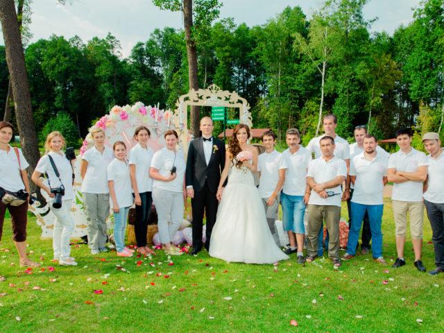 Создатели свадьбы в стиле Золушка